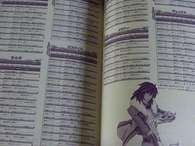 Tales of Hearts Kizuna no Sho Namco Bandai Guide Book