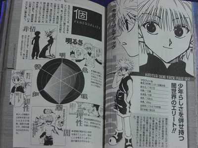 JAPAN Yoshihiro Togashi HUNTER x HUNTER Hunter/'s Guide Data Book